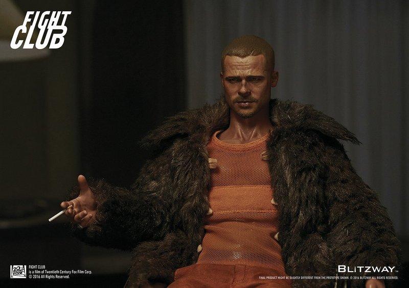 a54050444ed8a Archive Sold Out Fight Club 1 6 Tyler Durden Brad Pitt Fur. Black Sugar  Tank Top