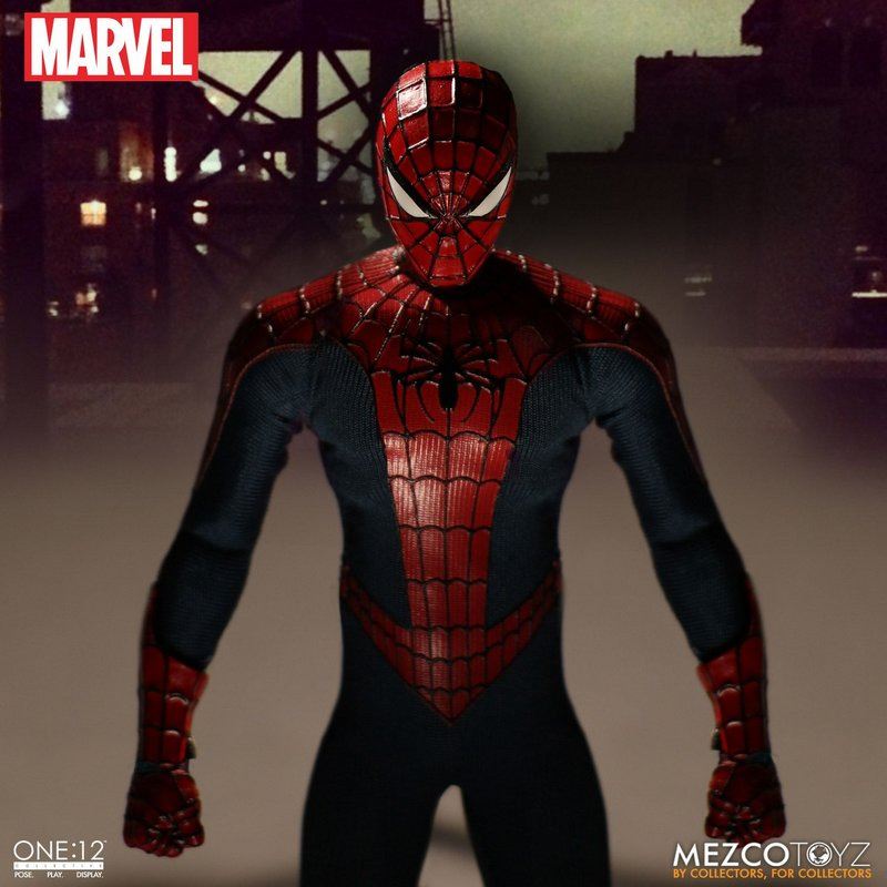 Mezco Toyz 1//12 Homecoming Spider-Man MEZ76760 Collectible Figure New